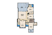 Mediterranean Style House Plan - 4 Beds 4.5 Baths 4513 Sq/Ft Plan #548-14 Floor Plan - Upper Floor Plan
