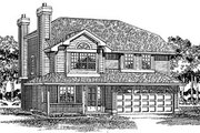 Traditional Style House Plan - 3 Beds 2 Baths 1564 Sq/Ft Plan #47-237 Exterior - Front Elevation