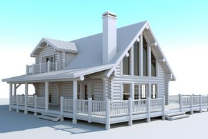 Log Home Plans and Log Cabin Plans