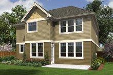 Dream House Plan - Craftsman Exterior - Rear Elevation Plan #48-514