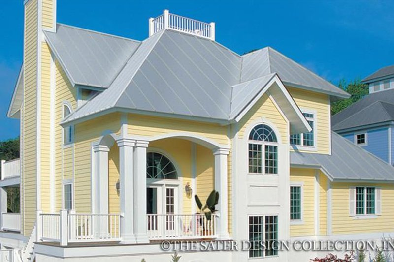Architectural House Design - Traditional Exterior - Front Elevation Plan #930-156
