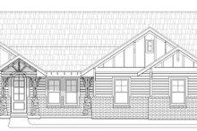 House Plan Design - Craftsman Exterior - Front Elevation Plan #932-174