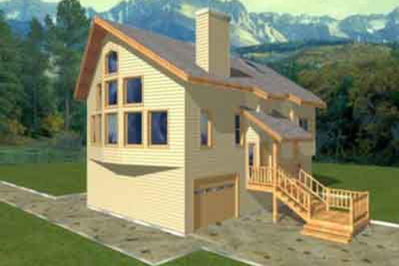 Home Plan - Modern Exterior - Front Elevation Plan #117-200