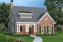 Country Exterior - Front Elevation Plan #419-183
