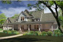 Architectural House Design - Farmhouse Exterior - Front Elevation Plan #120-189