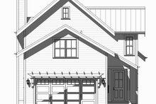 Beach Exterior - Rear Elevation Plan #901-131