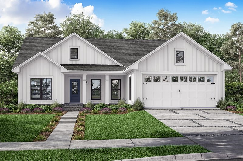Home Plan - Farmhouse Exterior - Front Elevation Plan #430-209