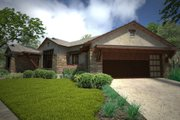 Ranch Style House Plan - 3 Beds 3 Baths 2352 Sq/Ft Plan #120-194 Exterior - Other Elevation
