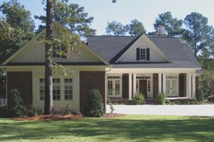 Home Plan - Country Exterior - Front Elevation Plan #1054-28