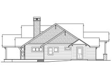 Craftsman Exterior - Other Elevation Plan #124-982