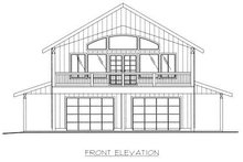 Traditional Exterior - Other Elevation Plan #117-535