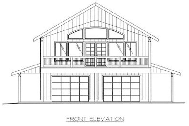 Traditional Exterior - Other Elevation Plan #117-535 - Houseplans.com