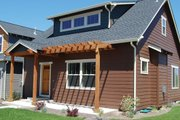 Craftsman Style House Plan - 3 Beds 2.5 Baths 1825 Sq/Ft Plan #434-13 Exterior - Front Elevation