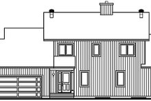 Contemporary Exterior - Front Elevation Plan #23-338