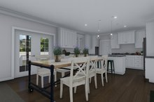 Architectural House Design - Traditional Interior - Dining Room Plan #1060-8