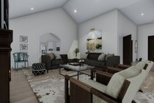 Dream House Plan - Traditional Interior - Family Room Plan #1060-61