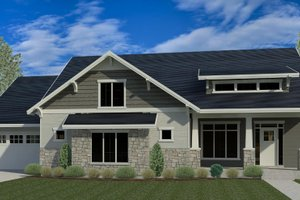 Architectural House Design - Country Exterior - Front Elevation Plan #920-14