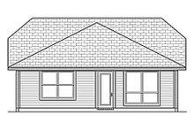 Dream House Plan - Cottage Exterior - Rear Elevation Plan #84-453