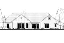 Craftsman Exterior - Rear Elevation Plan #430-158
