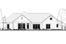 Craftsman Exterior - Rear Elevation Plan #430-158