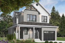 House Design - Country Exterior - Front Elevation Plan #23-2119