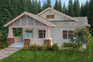Home Plan - Craftsman Photo Plan #434-4