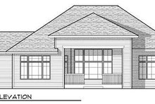Craftsman Exterior - Rear Elevation Plan #70-923