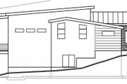 Modern Style House Plan - 5 Beds 3.5 Baths 3641 Sq/Ft Plan #1073-8 Exterior - Other Elevation