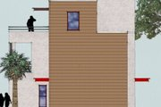 Modern Style House Plan - 2 Beds 3 Baths 1612 Sq/Ft Plan #512-2 Exterior - Other Elevation