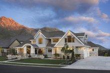 Craftsman Exterior - Front Elevation Plan #920-24