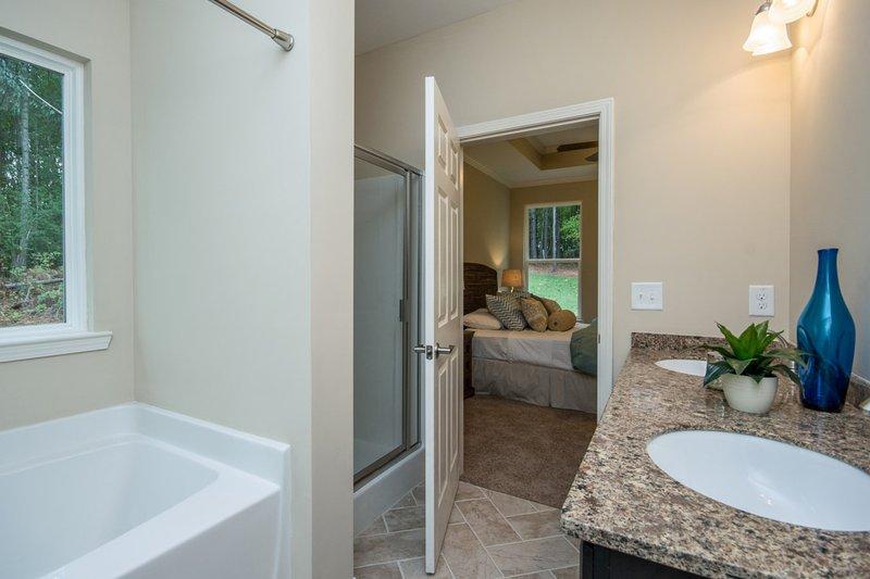 Country Interior - Master Bathroom Plan #20-2192 - Houseplans.com