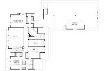 Craftsman Floor Plan - Upper Floor Plan Plan #48-148