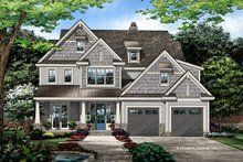 Craftsman Exterior - Front Elevation Plan #929-1079