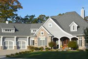 Ranch Style House Plan - 2 Beds 2.5 Baths 3104 Sq/Ft Plan #70-1063 Photo