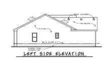 Architectural House Design - Traditional Exterior - Other Elevation Plan #20-2381