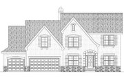 European Style House Plan - 3 Beds 3 Baths 2958 Sq/Ft Plan #20-1720