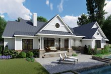 Farmhouse Exterior - Rear Elevation Plan #120-257