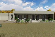 Modern Style House Plan - 3 Beds 2 Baths 1418 Sq/Ft Plan #549-22 Exterior - Front Elevation