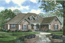 House Plan Design - European Exterior - Front Elevation Plan #17-2167