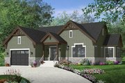Ranch Style House Plan - 3 Beds 2.5 Baths 1783 Sq/Ft Plan #23-2622