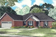 Home Plan - Southern Exterior - Front Elevation Plan #17-2339