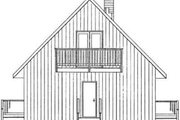 Traditional Style House Plan - 3 Beds 1 Baths 1011 Sq/Ft Plan #126-131 Exterior - Rear Elevation