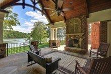 Architectural House Design - Craftsman Exterior - Outdoor Living Plan #54-385