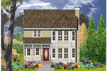 Dream House Plan - Victorian Exterior - Front Elevation Plan #3-276