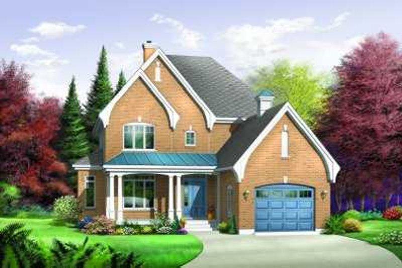 Dream House Plan - European Exterior - Front Elevation Plan #23-373