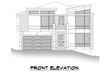 House Plan Design - Contemporary Exterior - Other Elevation Plan #1066-126