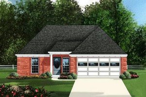 Traditional Exterior - Front Elevation Plan #424-246