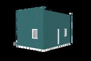 Modern Style House Plan - 1 Beds 1 Baths 314 Sq/Ft Plan #549-23