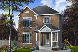 Traditional Exterior - Front Elevation Plan #23-733