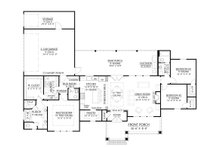 Farmhouse Floor Plan - Main Floor Plan Plan #1074-7